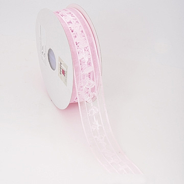 Die Cut Organza Ribbon - Baby Theme - Light Blue