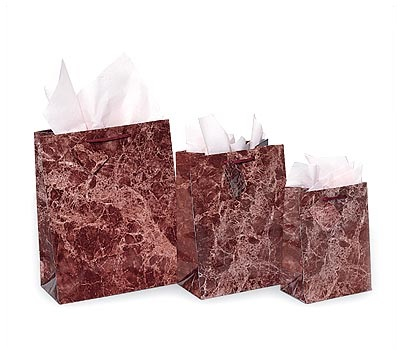 Marble Paper Shopping Bags