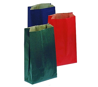 Merchandise Paper Bags with Side Gusset