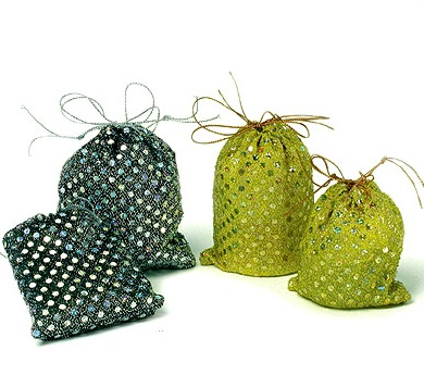 Organza Sequin Pouches