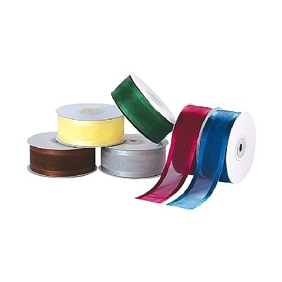 Organza Ribbon with Satin Edge