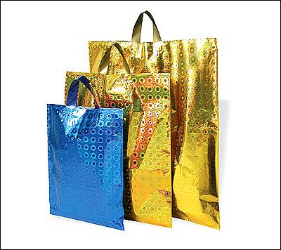 Hologram Metallic Bags