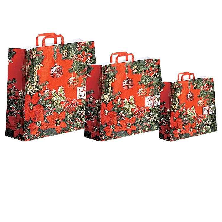 Christmas Theme - Paper Shopping Bags