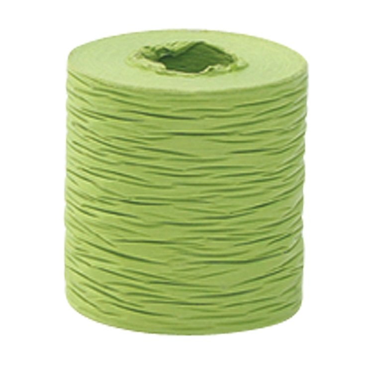 Paper Ribbon - Crinkle - Lime