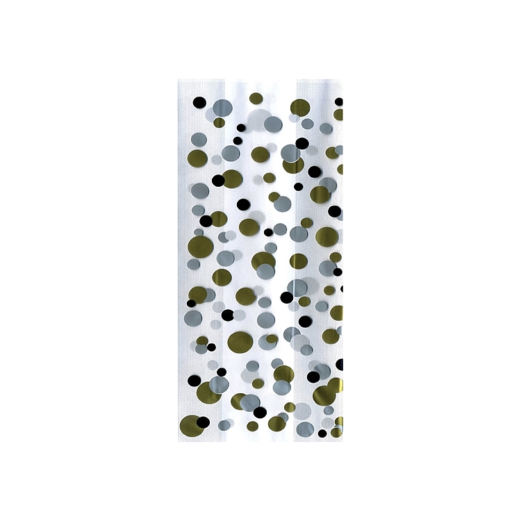 Cellophane Bags Designs - Gold and Silver Dots