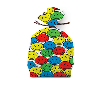 Cellophane Bags Designs - Smileys