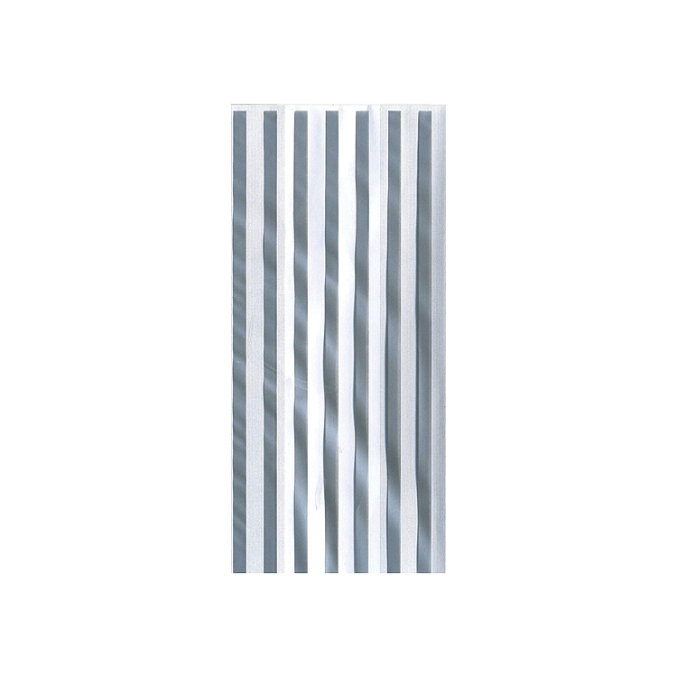 Cellophane Bags Designs - Silver Stripes