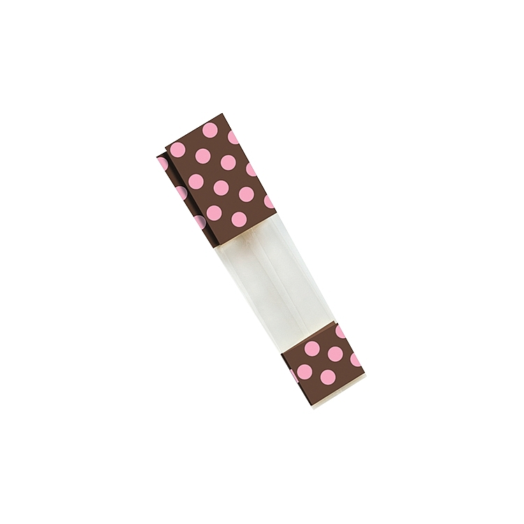 Chocolate and Pink Dots