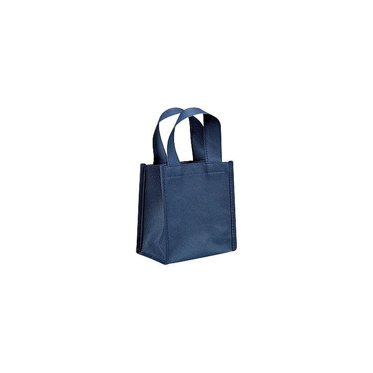 Non Woven Bags with Loop Handle - Navy Blue