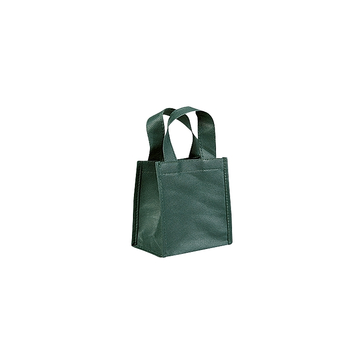 Non Woven Bags with Loop Handle - Green