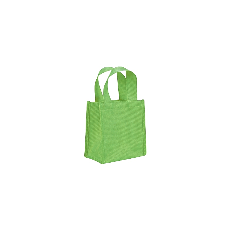 Non Woven Bags with Loop Handle - Lime