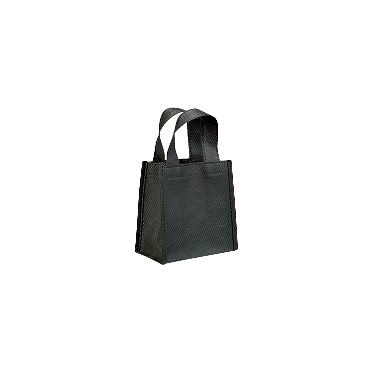 Non Woven Bags with Loop Handle - Black