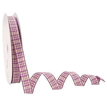 Wired Ribbon - Plaid