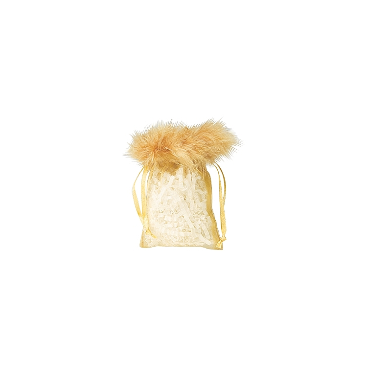 Organza Feather Top Pouches