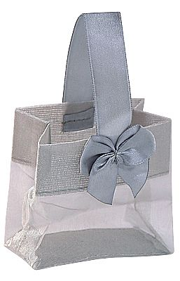 Organza Pouches with Satin Handle
