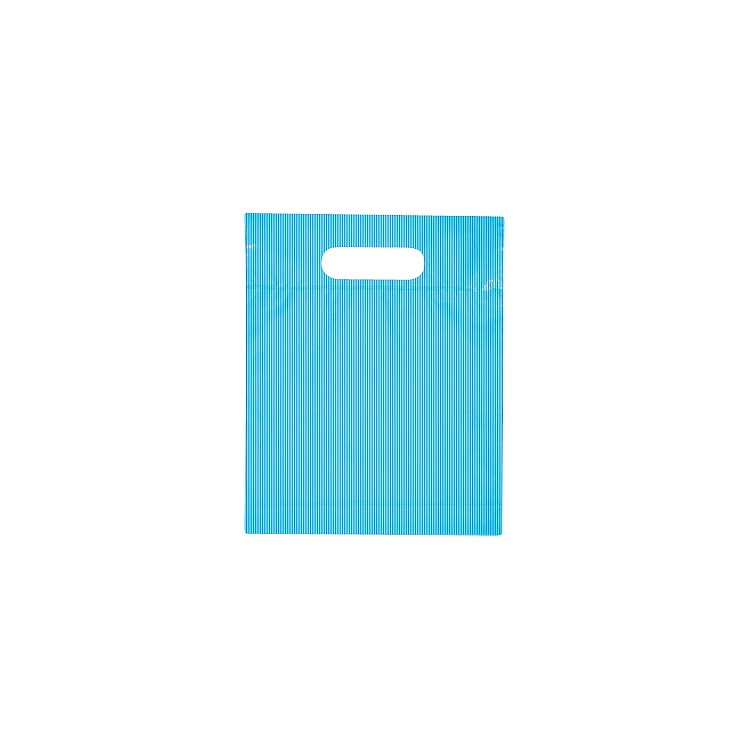 Striped Solid Colour Plastic Bags