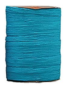 Raffia Ribbon - Matt Finish - Aqua