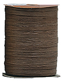 Raffia Ribbon - Matt Finish - Brown