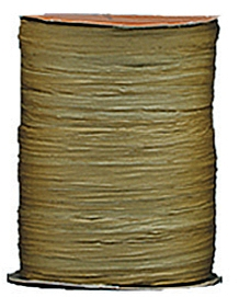 Raffia Ribbon - Matt Finish - Kraft