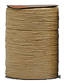 Raffia Ribbon - Matt Finish - Oatmeal
