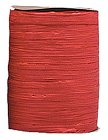 Raffia Ribbon - Matt Finish - Red