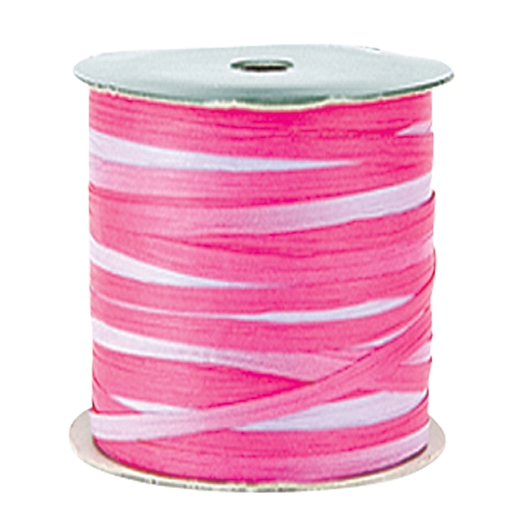 Variegated Paper Raffia Ribbons