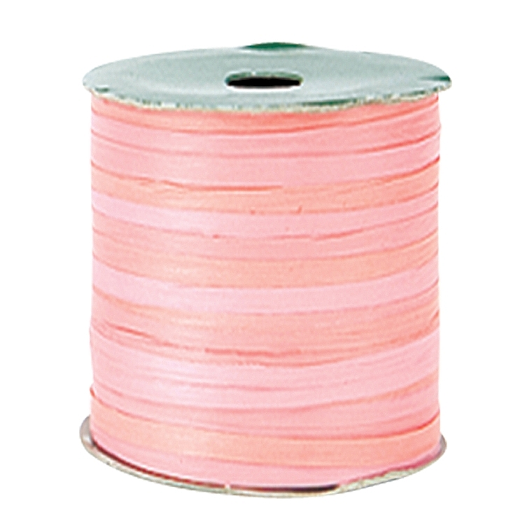 Variegated Paper Raffia Ribbons - Pink
