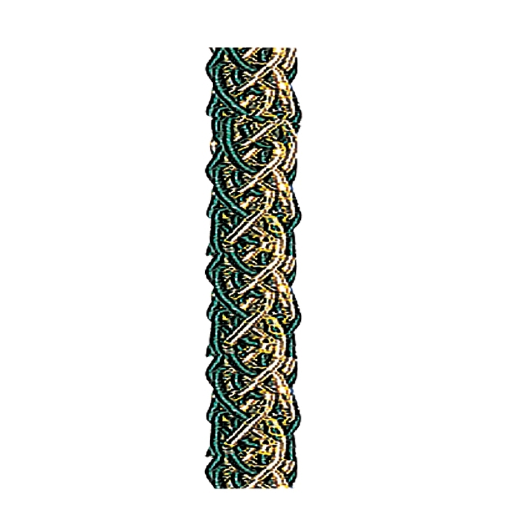 Metallic Twisted Rope - Hunter Green