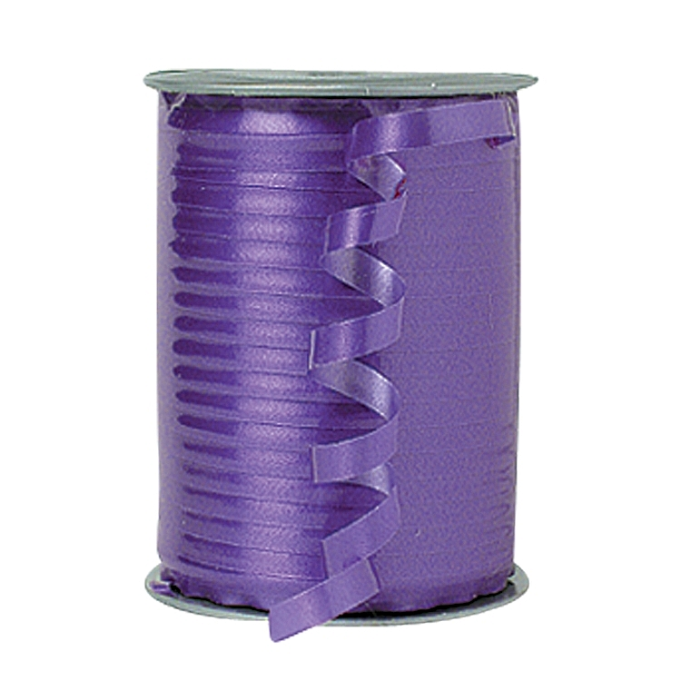 Self Curling Satin Ribbon - Violet