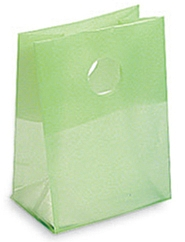 Frosted Die Cut Plastic Bags