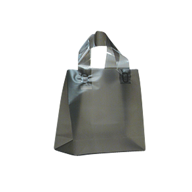 Loop Handle Frosted Plastic Bags