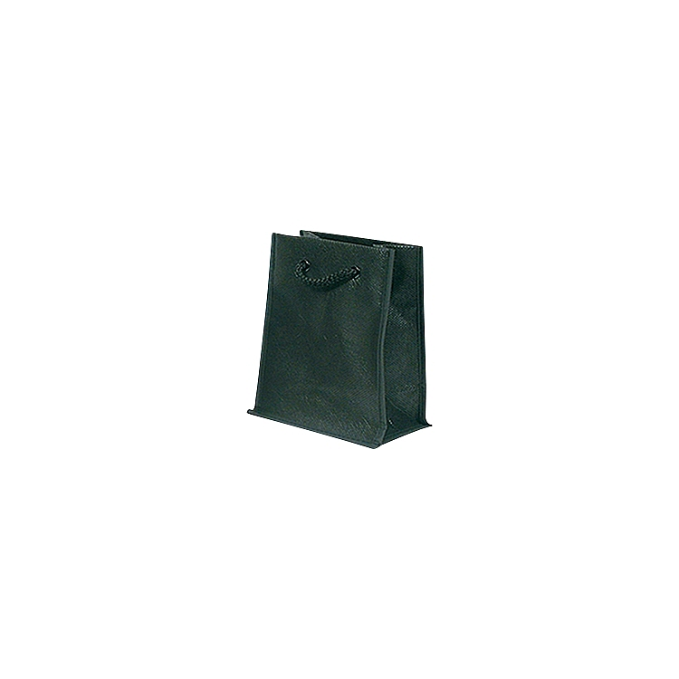 Rope Handle Non Woven Bags - Black