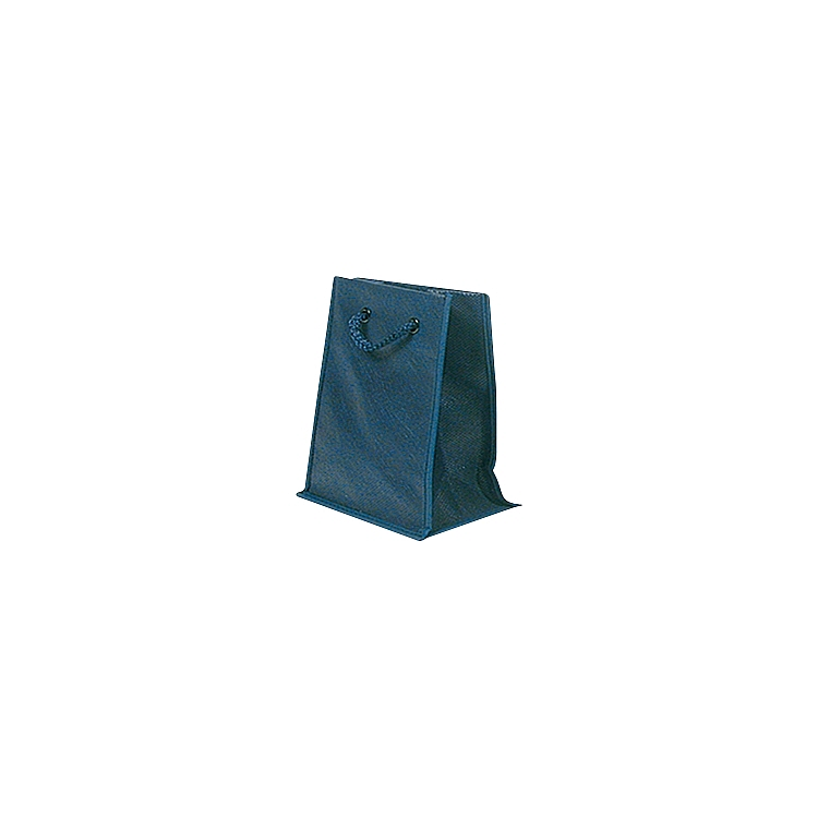 Rope Handle Non Woven Bags - Navy Blue