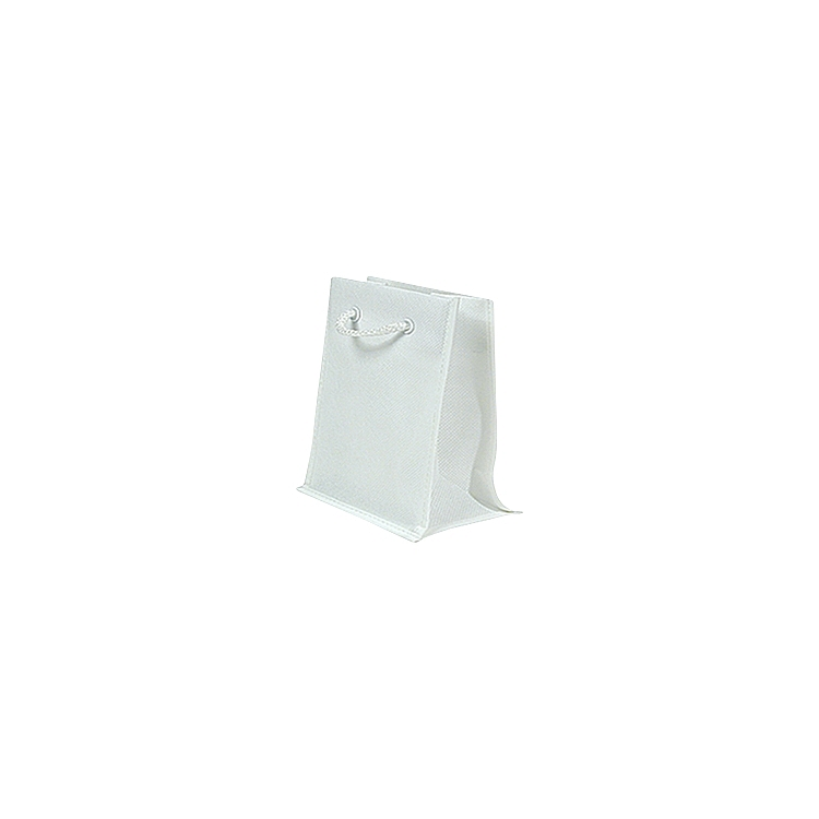 Rope Handle Non Woven Bags - White