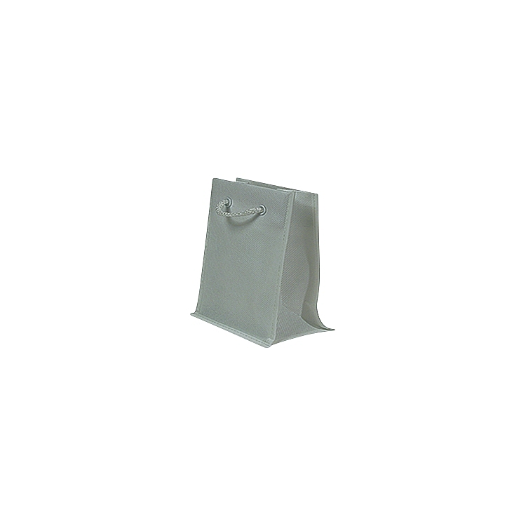 Rope Handle Non Woven Bags - Silver