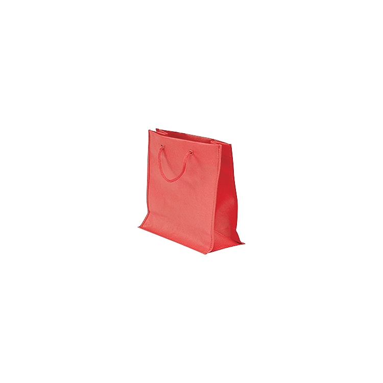 Rope Handle Non Woven Bags - Red