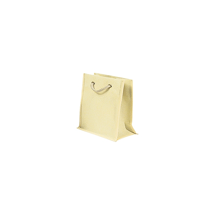 Rope Handle Non Woven Bags - Beige