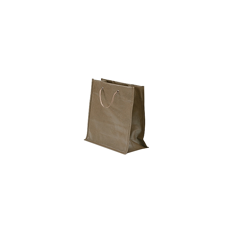 Rope Handle Non Woven Bags - Brown