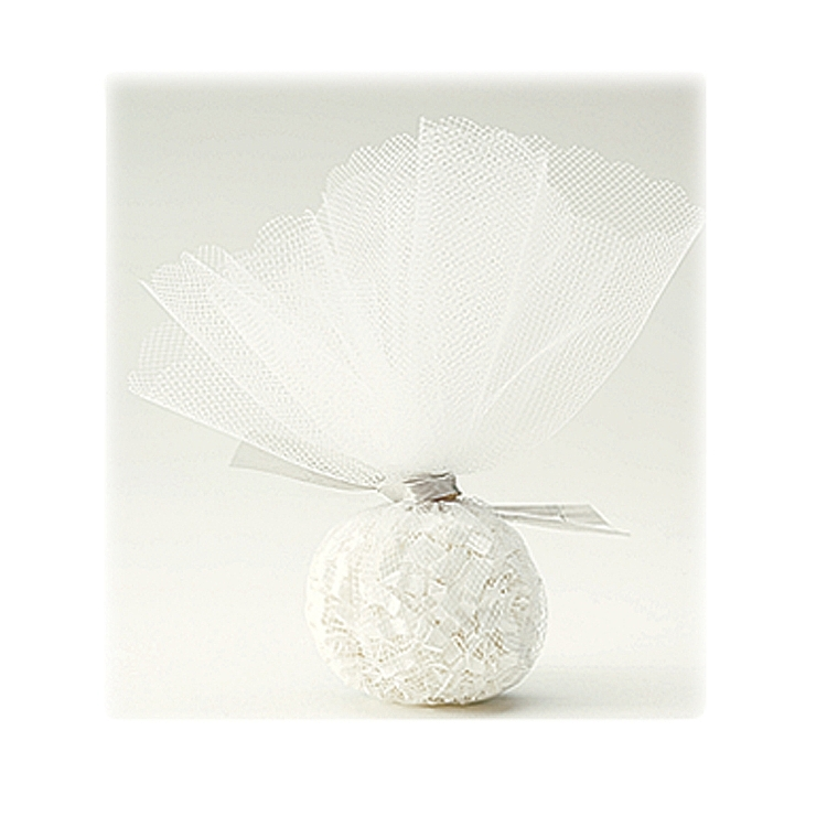 Tulle Circles - Ivory