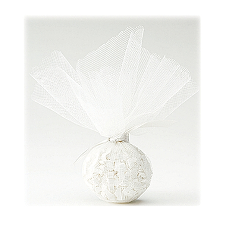 Tulle Circles - White