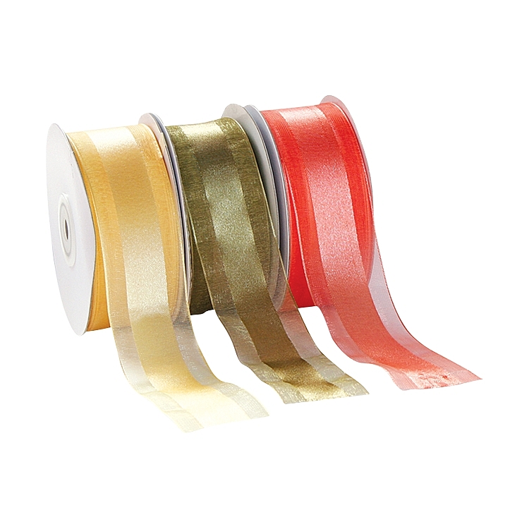 Organza Satin Edge Ribbon