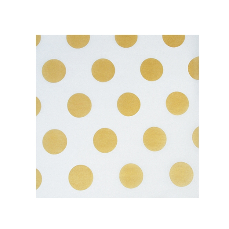 Gold Dots Tissue