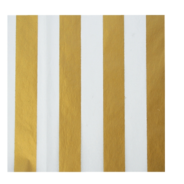Gold Stripes Tissue