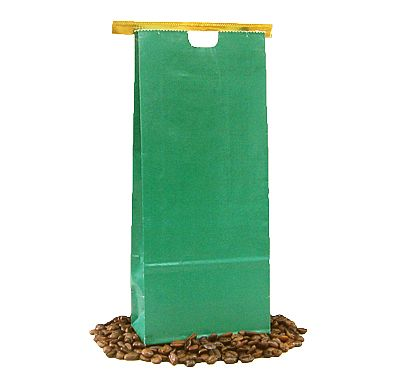 Tin Tie Paper Bags - Green