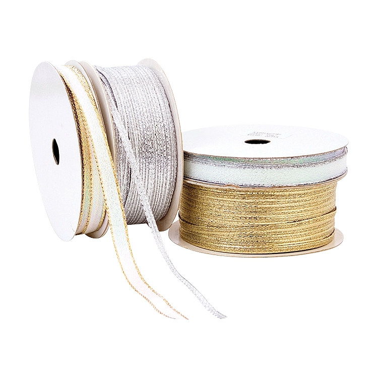 Wired Iridescent Ribbon