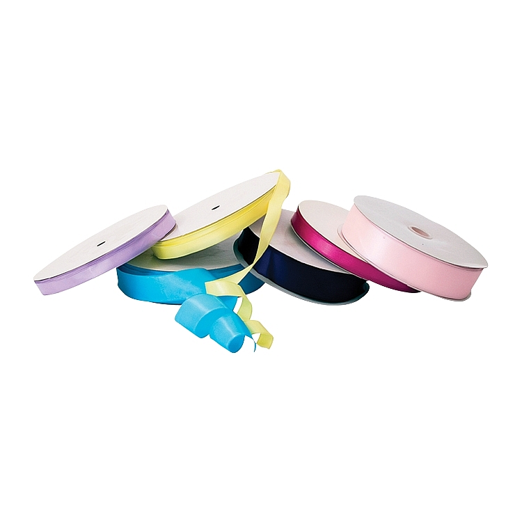 Wired Single Face Satin Ribbon   - Pink