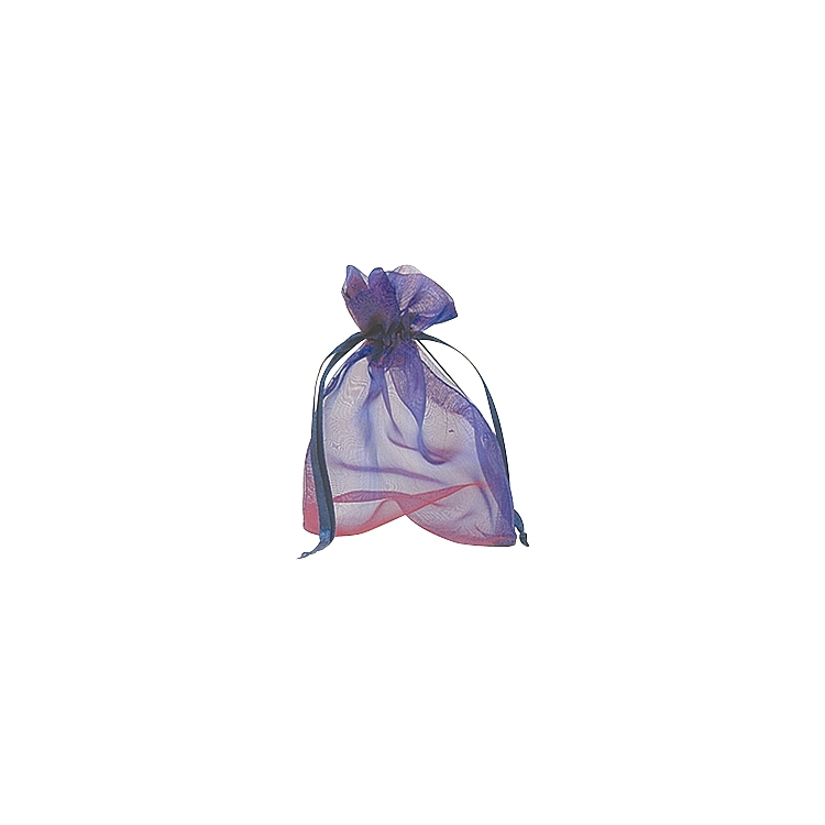 Organza Iridenscent Bags - Purple