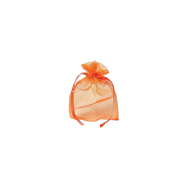 Organza Iridenscent Bags - Orange