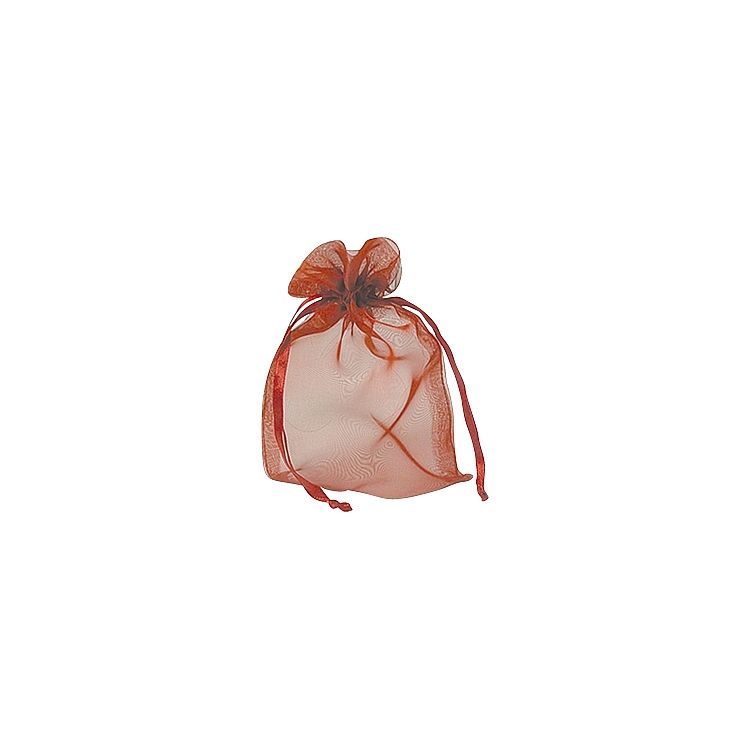 Organza Iridenscent Bags - Red