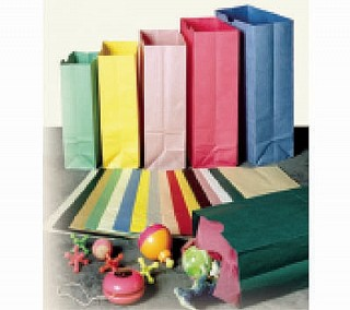 Merchandise Paper Bags with Gusset